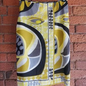 Silk Skirt by Emilio Pucci - Size 4